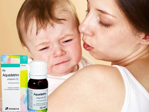Thông báo về việc về việc mẫu Aquadetrim vitamin D3 nghi ngờ là giả